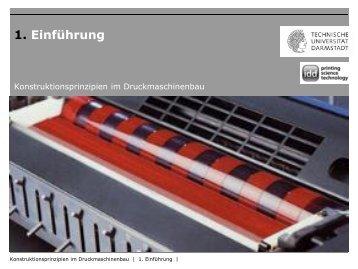 KiD_WS1314_1.Einführung_V1 - Institut für Druckmaschinen und ...