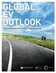 Understanding the Electric Vehicle Landscape to 2020 - IEA