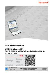 WINFEM Advanced für EMZ MB12/561-HB24/MB24/HB48/MB48 ...
