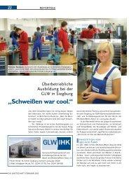Die GLW in Siegburg - IHK Bonn/Rhein-Sieg