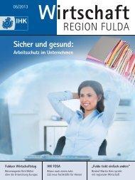 Sicher und gesund: - IHK Fulda
