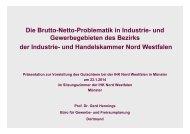 Die Brutto-Netto-Problematik in Industrie- und Gewerbegebieten des ...