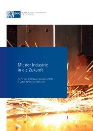 Mit der Industrie in die Zukunft - IHKs in NRW