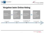 Vorgehen beim Online-Voting - IHK Nürnberg für Mittelfranken