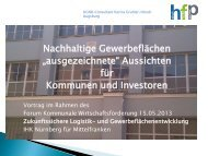 """""""ausgezeichnete"""" Aussichten für Kommunen und Investoren"""