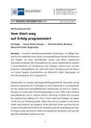 PM_37_ihk_gruenderpreis_2013_pm - IHK Nürnberg für Mittelfranken