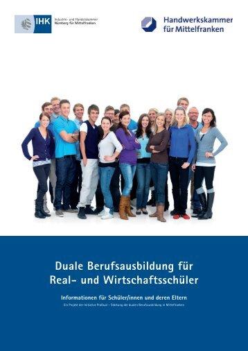 Duale Berufsausbildung für Real- und Wirtschaftsschüler