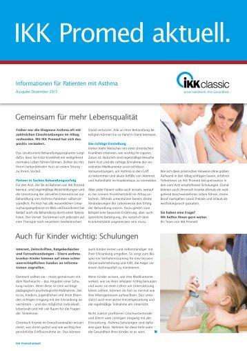 IKK Promed Diabetes Asthma - IKK classic
