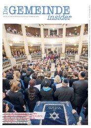 Insider NOVEMBER 2013 als pdf herunterladen - Israelitische ...