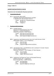 adressenverzeichnis - bei der Internationalen Kommission zum ...