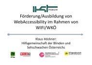 Incite Lehrgang - IKT Forum