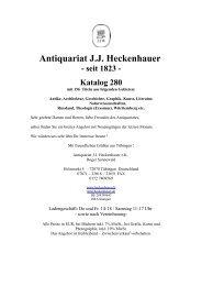 Antiquariat J.J. Heckenhauer