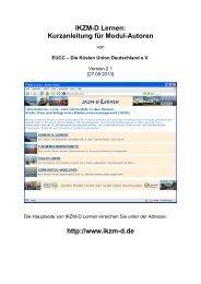 downloaden (PDF, ca. 2MB) - IKZM-D Lernen