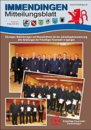 Mitteilungsblatt KW 4 - Immendingen