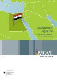 Marktstudie Ägypten für den Export beruflicher Aus- und Weiterbildung
