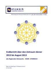 Jahresbericht des RN Niederösterreich 2012/13 - IMST