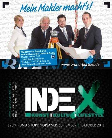 oktober 2013 - INDEX Bad Oeynhausen