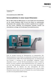 Presseinformation IT600 - INDEX-Werke GmbH & Co. KG Hahn ...