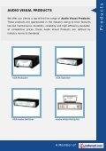 Khyati AV Solution, Mumbai - Manufacturer & Trader of Audio Visual ... - Page 3