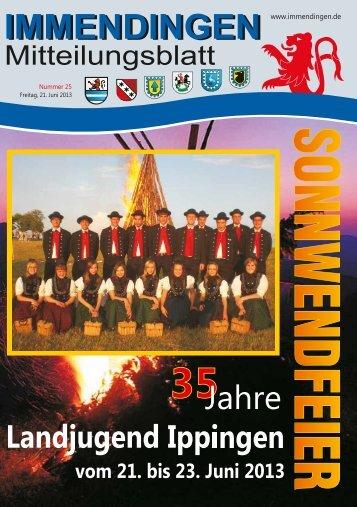 Mitteilungsblatt KW25 - Immendingen