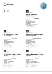 Installation - Indesit