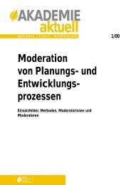 Moderation - Dokumentation der Verwaltungsmodernisierung in ...