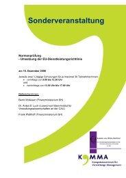 Beschreibung der Veranstaltung mit Anmeldebogen (pdf-Datei)