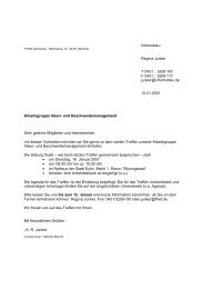 Arbeitsgruppe Ideen- und Beschwerdemanagement Sehr geehrte ...