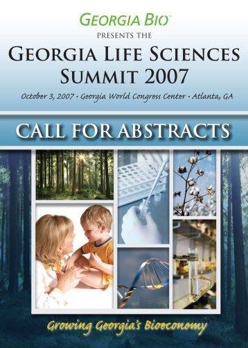 Georgia Life Sciences Summit 2007 - Informed Horizons, LLC
