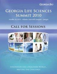 Georgia Life Sciences Summit 2010 - Informed Horizons, LLC