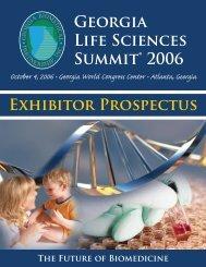 Georgia Life Sciences Summit® 2006 - Informed Horizons, LLC