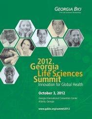 Georgia Life Sciences Summit - Informed Horizons, LLC