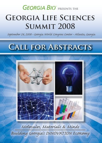 Call for Abstracts - Informed Horizons, LLC