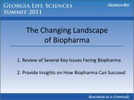 Changing Landscape of Biotech and Pharma - Informed Horizons ...