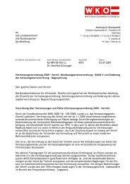 An alle Landeskammern alle Bundessparten Up-Abteilung Rp 989 ...