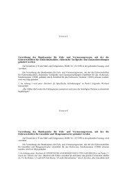 Verordnung des Bundesamtes für Eich- und Vermessungswesen ...