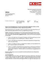alle Wirtschaftskammern alle Bundessparten Abt. Up SpG 7-2/2009 ...