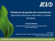 Diapositiva 1 - Instituto Interamericano de Cooperación para la ...