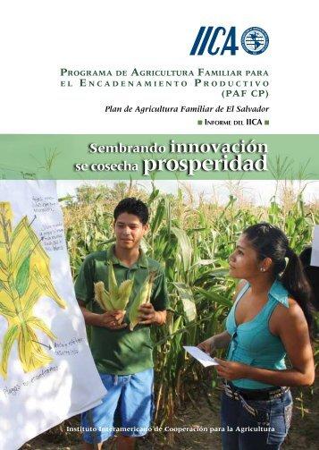 Programa de Agricultura Familiar para el ... - InfoRural.com.mx