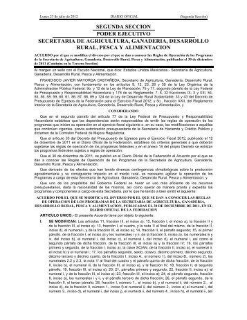 dof-sagarpa-230712 - InfoRural.com.mx