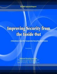 Improving Security from the Inside Out - Infosecwriters.com