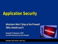Application Security Integration - Infosecwriters.com