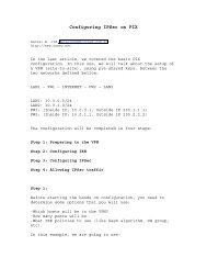 Configuring IPSec on PIX - Daniel Cid