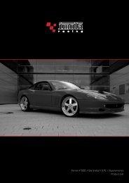 Ferrari F 550 / Barchetta F 575 / Superamerica ... - Dimex Group