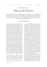 Moritz Leuenberger über die direkte Demokratie in der ... - Infosperber
