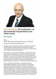 Beat Kappelers Kommentar in der NZZaS vom 12.5.2013 - Infosperber