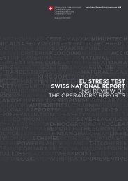 Swiss National Report - OECD Nuclear Energy Agency