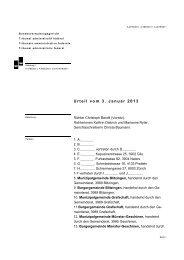 Urteil vom 3. Januar 2013