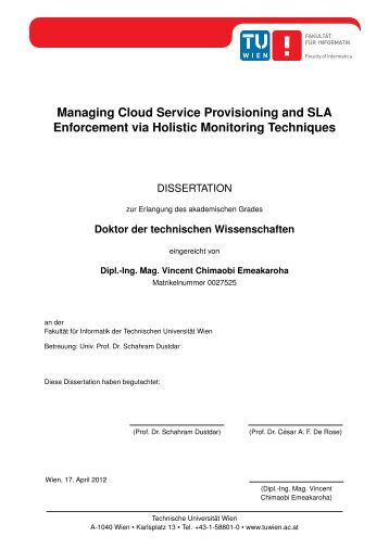 a service level agreement for provision 10 master service level agreement provision for reviews to define in detail the service to be delivered by itms and the level of service.