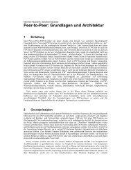 Peer-to-Peer: Grundlagen und Architektur - People - EPFL